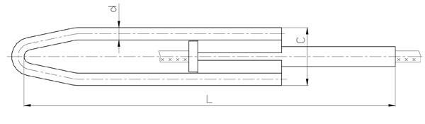 Зажим натяжной ТРАС: НМБ-95-1, НМБ-300-1