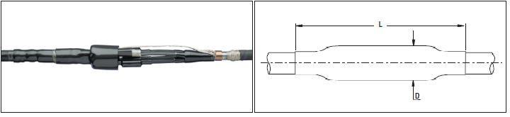 Муфта соединительная GUSJ-01/4x120-240