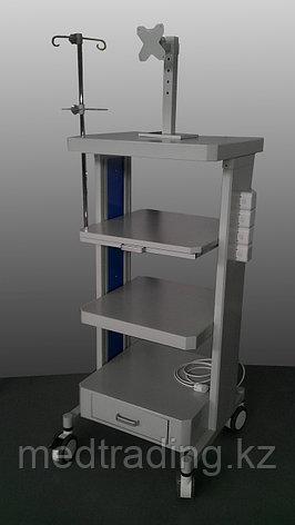 Стойка передвижная для эндоскопических аппаратов и устройств, фото 2