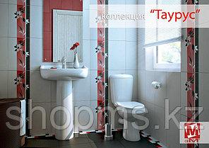 Керамическая плитка М-Квадрат Таурус белая 121500 (25*40) *, фото 2