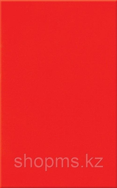 Керамическая плитка М-Квадрат Моноколор красная 120042 (25*40) *