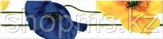 Керамическая плитка М-Квадрат Моноколор бордюр желто-синий 270011 (25*6) *