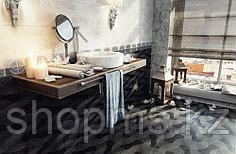 Керамическая плитка М-Квадрат Элеганс белая 123601 (25*40) *