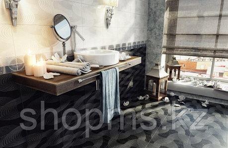 Керамическая плитка М-Квадрат Элеганс белая 123601 (25*40) *, фото 2