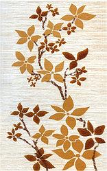 Керамическая плитка М-Квадрат Гардения декор беж. 341662 (25*40) *