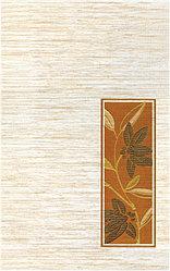 Керамическая плитка М-Квадрат Гардения декор золотой 341661 (25*40) *