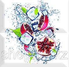 Керамическая плитка PiezaROSA Биселадо Гранаты 2 плитки 325506/1 (20*20*8) *