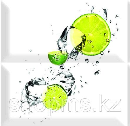 Керамическая плитка PiezaROSA Биселадо Лайм 2 плитки 325508/1 (20*20*8) *, фото 2