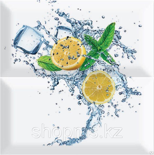 Керамическая плитка PiezaROSA Биселадо Лимон 2 плитки 325502/1 (20*20*8) *
