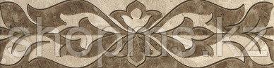 Керамическая плитка GRACIA Saloni brown border 01 (300*75), фото 2