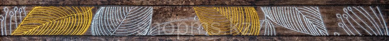 Керамическая плитка GRACIA Foresta brown border 01 (600*65)