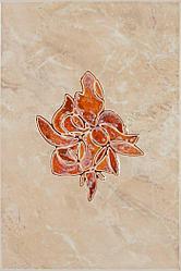 Керамическая плитка Шахтинская Пъетра декор коралловый (200*300)