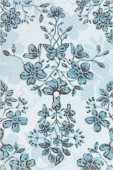 Керамическая плитка Шахтинская Модена декор голубой (200*300)*