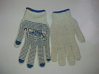 Трикотажные перчатки с точечным ПВХ