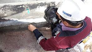 Дефектоскопия сварных швов, дефектоскопия теплосетей и металлических конструкции, контроль  по территории РК