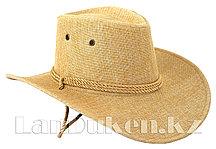 Ковбойская шляпа светлый бежевый