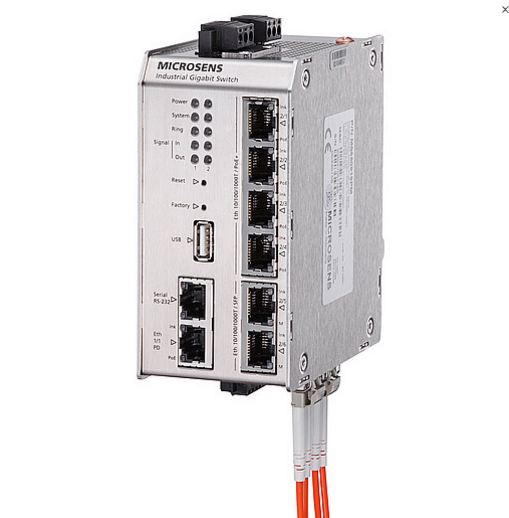 7-портовые коммутаторы GBE с поддержкой PoE/PoE+