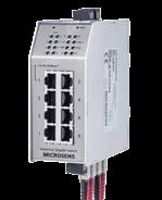 10-портовый промышленные коммутаторы MS6508XXX