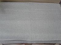 Скатерть без бахромы. 180*300см коричневая в мелкую клетку