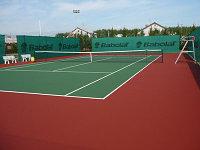 Теннисный корт c твердым покрытием Hard