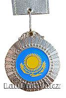 Медаль рельефная Казахстан (серебро)