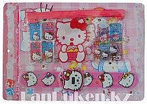 "Набор детский ""Браслет наручный +кошелек"" Hello Kitty"