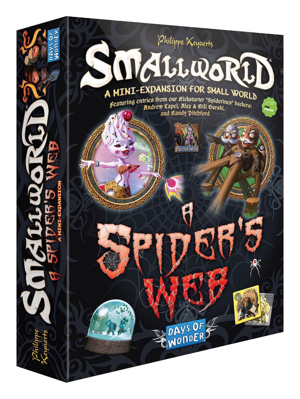Настольная игра: SmallWorld: A Spiders Wed
