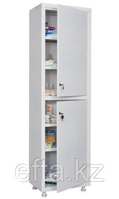 Медицинский  шкаф для медикаментов МД 1 1650/SS Размеры: 1720x500x320 мм