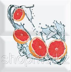 Керамическая плитка PiezaROSA Биселадо Грейпфрут 2 плитки 325503 (20*20*8) *