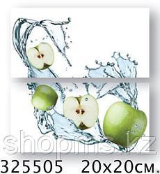 Керамическая плитка PiezaROSA Биселадо Яблоки 2 плитки 325505 (20*20*8) *