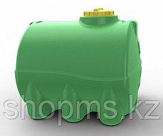Емкость горизонтальная цилиндрическая 100л. зеленая
