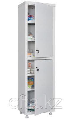 Шкаф медицинский для медикаментов МД 1 1657/SS Размеры: 1720х570х320 мм