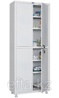 Медицинский шкаф для медикаментов МД 2 1670/SS Размеры: 1720х700х320