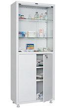 Шкаф медицинский для медикаментов МД 2 1670/SG Размеры: 1720х700х320 мм