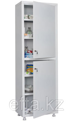 Шкаф медицинский для хранения медикаментов МД 1 1760/SS Размеры: 1810х600х400