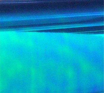 Пленка декор тонировочная (синяя)  0,3*9