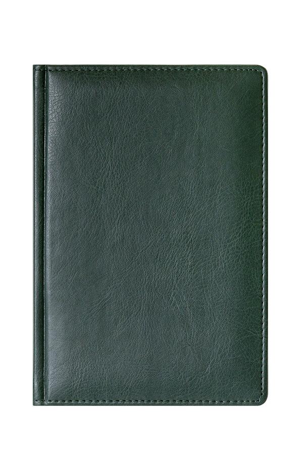 Ежедневник MEMORY A5, полудатированный, зеленый