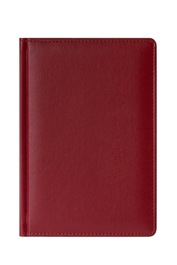 Ежедневник MEMORY A5, полудатированный, красный