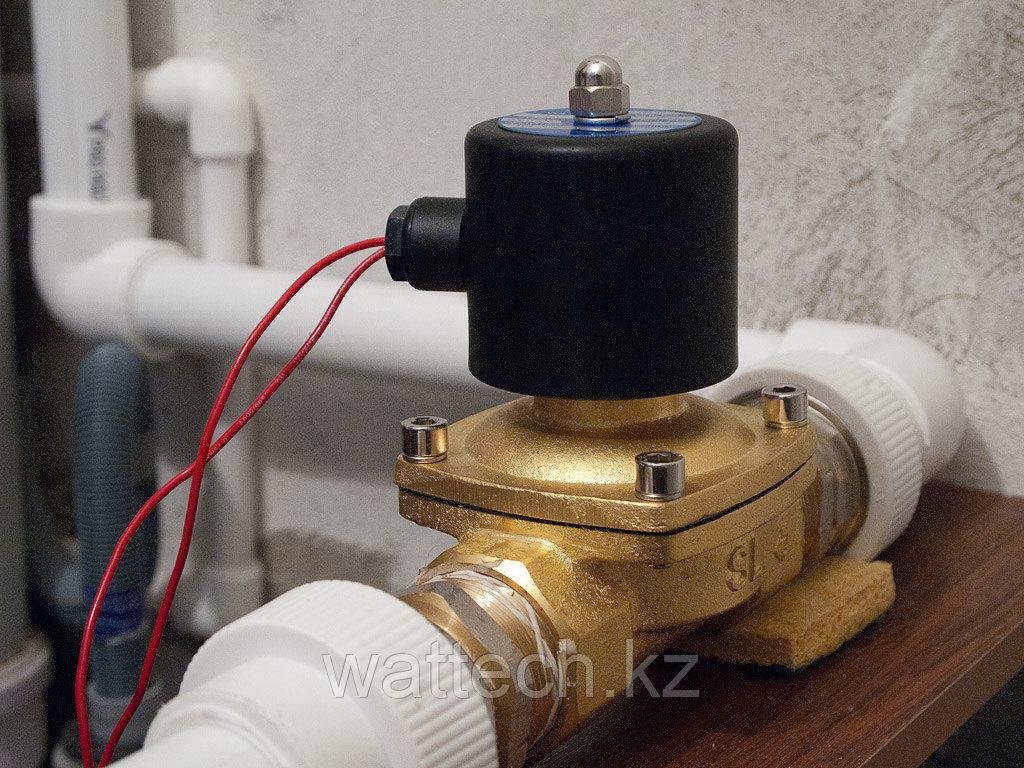 Электромагнитный клапан ДУ 15  для воды, воздуха