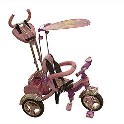 Велосипед трехколесный Mars Trike KR-01 H с рисунком Розовый/Фиолетовый