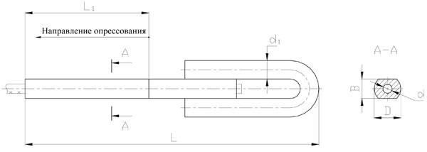 Зажимы натяжные клиновые НС-100-3, НС-120-3