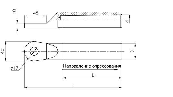 Зажимы заземляющие ЗПС-35-3В, ЗПС-50-3В, ЗПС-70-3В, ЗПС-100-3В, ЗПС-120-3В, ЗПС-140-3В