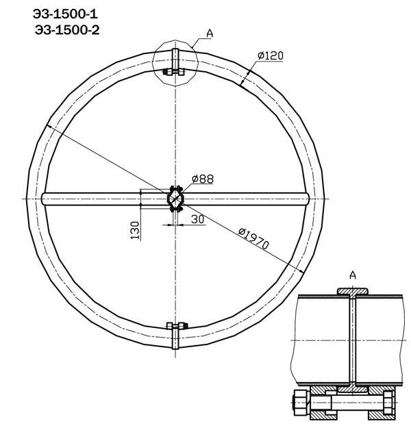 Экраны защитные ЭЗ-1500-1,ЭЗ-1500-2