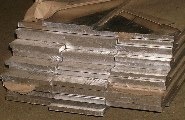 Алюминиевая шина АД31 80х8х4000