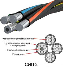 Провод СИП-2 1х25+1х25 -0,6/1