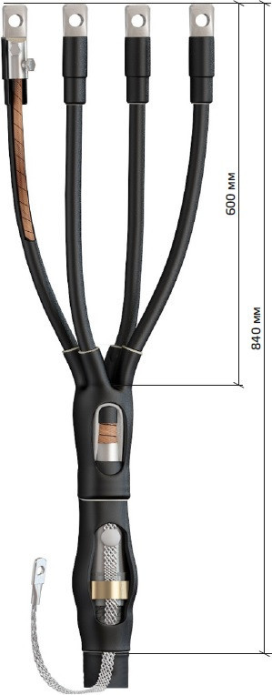 Муфта концевая 4КВ(Н)ТП-1-150/240