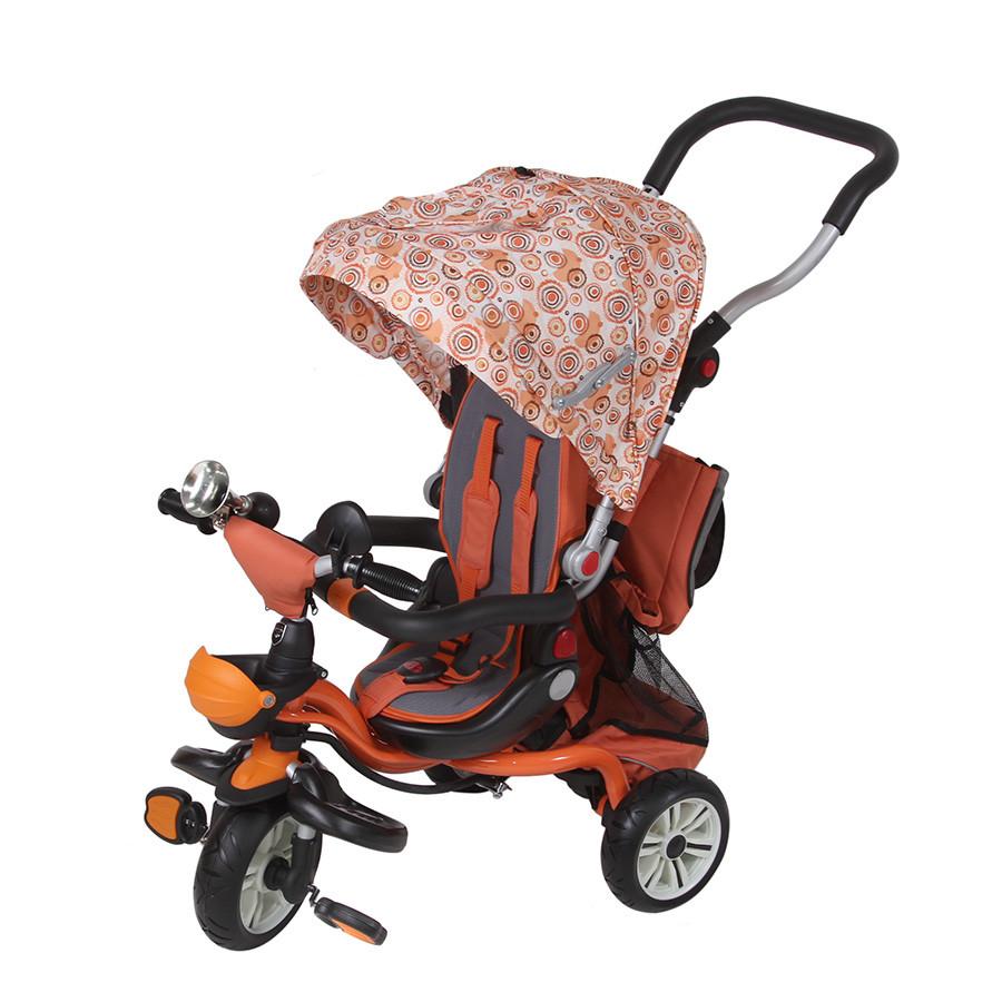 Велосипед 3-х колесный Mars Trike Chic-2 Print оранжевый