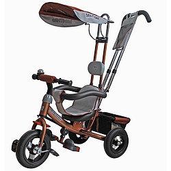 "Велосипед 3-х колесный Mars Mini Trike LT-950 10""8""  коричневый"