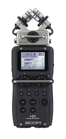 Профессиональный аудио-рекордер Zoom H5, фото 2