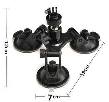 Крепление на лобовое стекло на GoPro 3 присоски